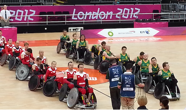 paralympics wheelchair rugby 2012